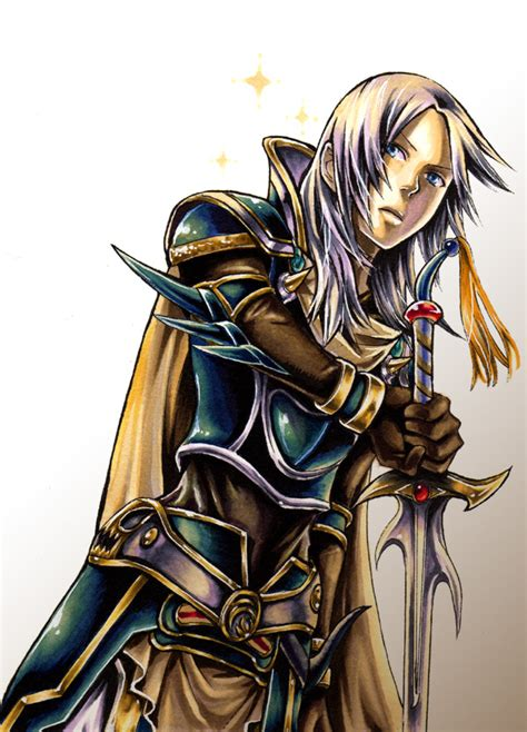 anime final fantasy 1 warrior of light final fantasy i mobile wallpaper