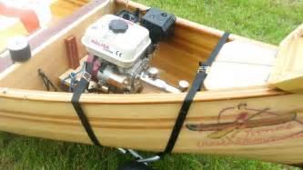 canoe eagle feather engine inboard long tail teleflex