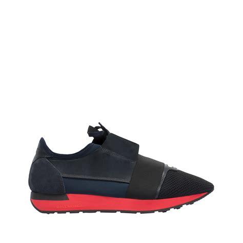 balenciaga shoes balenciaga race runners navy s race shoes