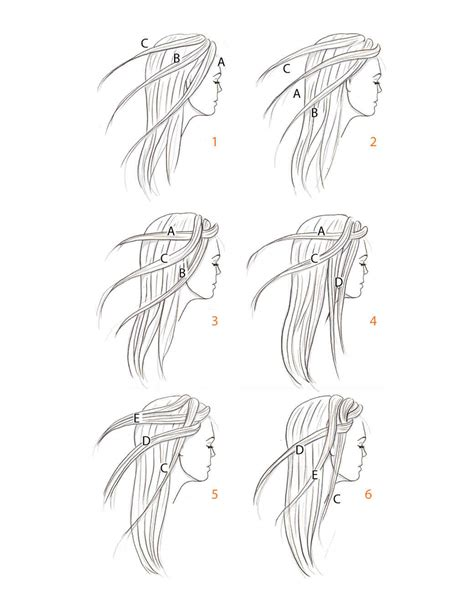 step by step written instructions for braids hair braiding how to martha stewart