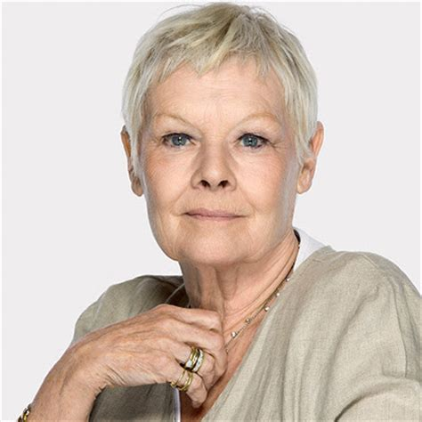judith dench haircut judi dench hairstyle layered hairstyles