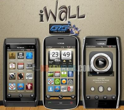 hd theme download for nokia 6120 iwall hd theme for nokia n8 other belle smartphones