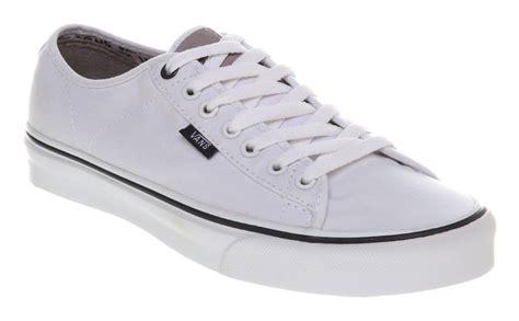 mens vans ferris true white trainers shoes ebay