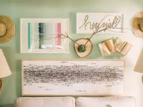 Diy Art Ideas Hgtv Diy Wall Decor Ideas For Bedroom