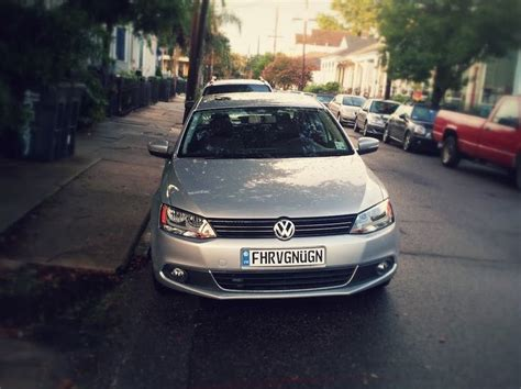 fahrvergn 252 on a vw european license plate cars with
