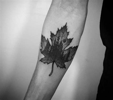 maple leaf tattoo best 25 canadian ideas on canada