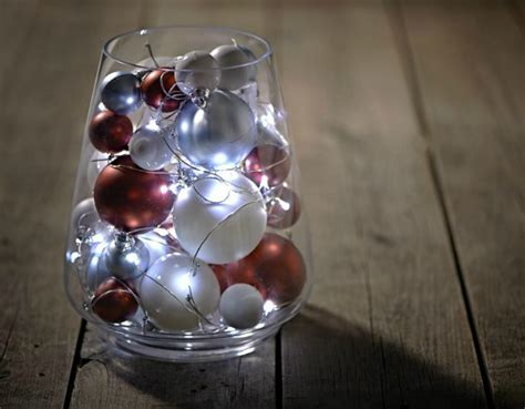 bauble table decoration the lights fantastic lights wilkolife