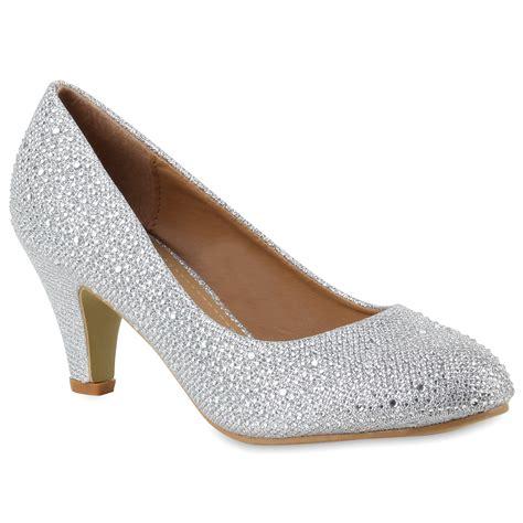 Schuhe Silber Hochzeit by Damen Pumps In Silber 891719 526 Stiefelparadies De