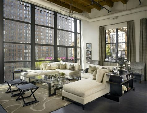 chicago cityscape living room remodel drury design a dynamic new york skyline apartment decoholic