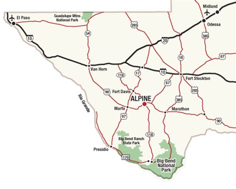 map alpine texas alpine texas map of alpine will be on your left approximately 2 past alpine