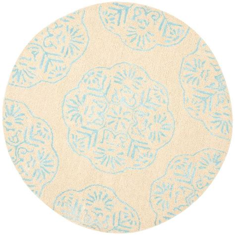 5 ft rugs safavieh beige turquoise 5 ft x 5 ft area