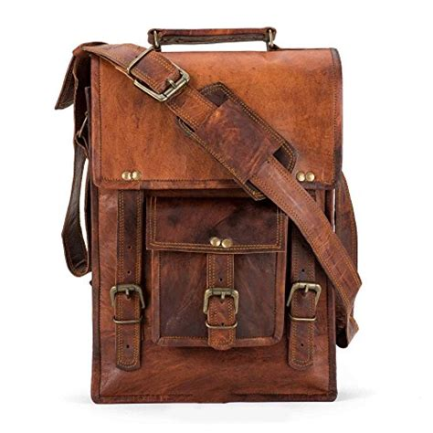 Handmade Laptop - handmade leather messenger laptop briefcase shoulder