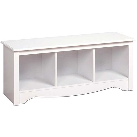 cubbie storage bench monterey cubbie bench white in storage benches