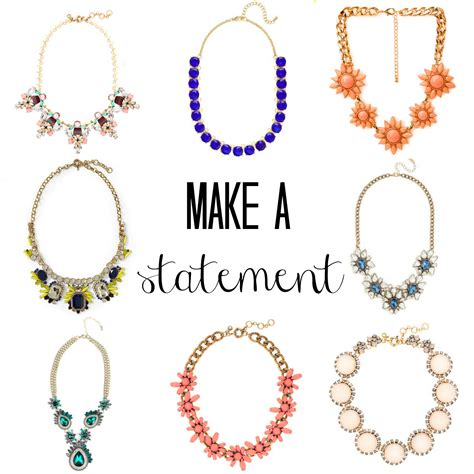 make a statement jewelry statement necklaces for work berger inc