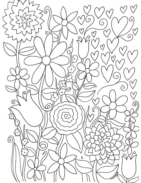 coloring book pages free printable stress relief coloring book pages for grown ups