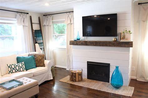fireplace wall decor outstanding shiplap fireplace wall decor ideas 07