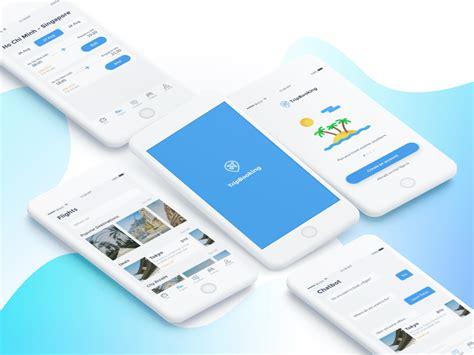 airbnb ui kit trip booking app ui kit sketch freebie download free
