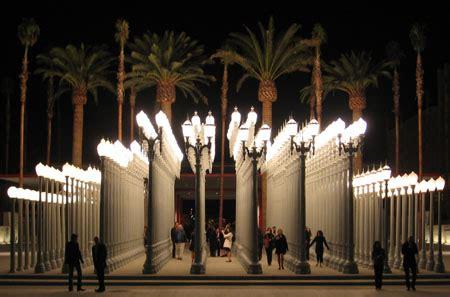 La Lighting by Light Chris Burden Bcam Lacma Perception