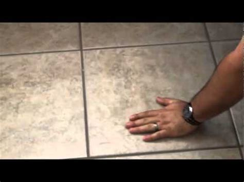Detecting a leak under the floor