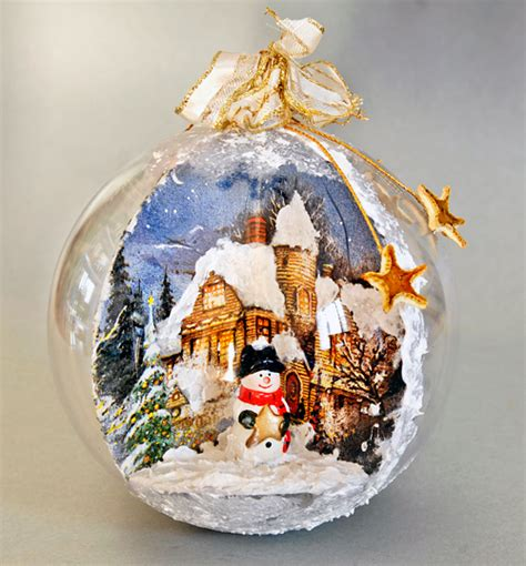tutorial decoupage palline di natale come realizzare palline decorate di natale bricoportale