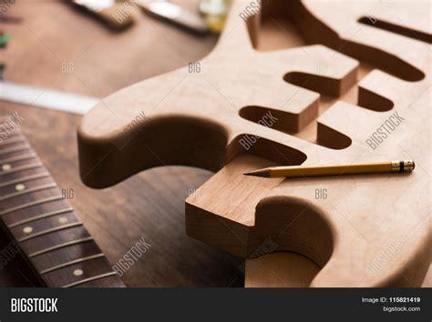 guitar work bench electric guitar making guitar work image photo bigstock