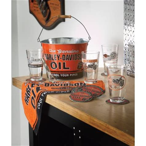 Where Can I Buy A Harley Davidson Gift Card - harley davidson oil can pint glass gift set black friday cyber monday