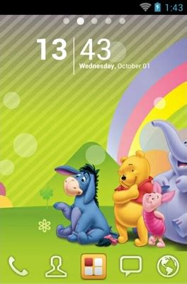 themes android winnie the pooh winnie pooh android theme for go launcher androidlooks com