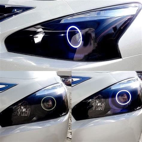 nissan altima headlights oracle lighting 174 nissan altima sedan 2013 2015 chrome