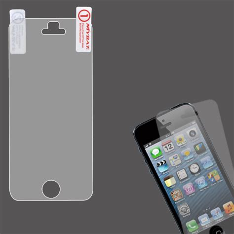 clear anti glare lcd screen protector cover for cell