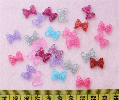Resin Mix Colour 12mm For Deco Cas aliexpress buy 300pcs bow resin flatback bling