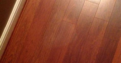 heat mark on laminate floor hometalk