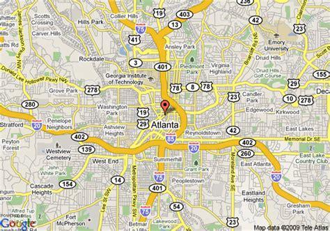 street map of downtown atlanta georgia marriott atlanta downtown atlanta deals see hotel