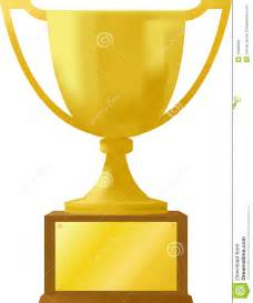 gold award trophy ai stock photo image 10209020