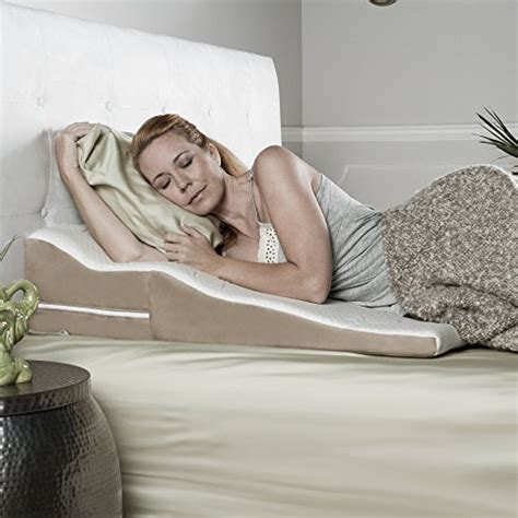 Top 5 Beds For Side Sleepers - top 5 best acid reflux wedge pillow side sleepers for sale
