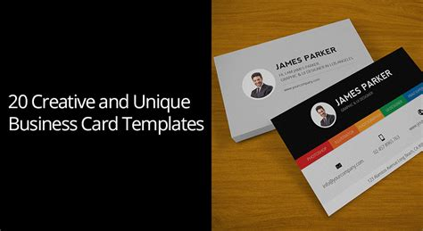 unique business card templates 20 creative and unique business card templates codegrape