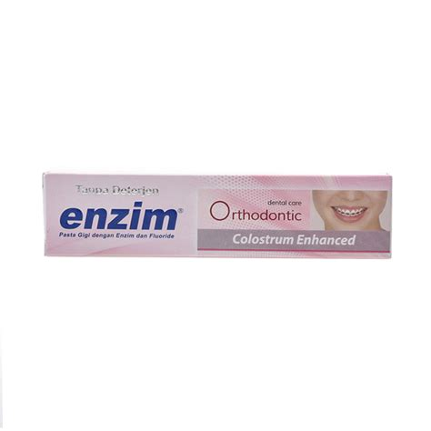 Pasta Gigi Enzim 100 Ml jual enzim orthodontic colostrum enhanced pasta gigi 50