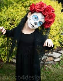 Halloween Costume Ideas Kids Easy Sugar Skull Halloween Costume Cuckoo4design