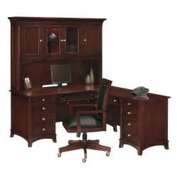 L Shape Desk With Hutch Wynwood 1381 44 48 Kennett Square L Shaped Desk With Hutch Atg Stores