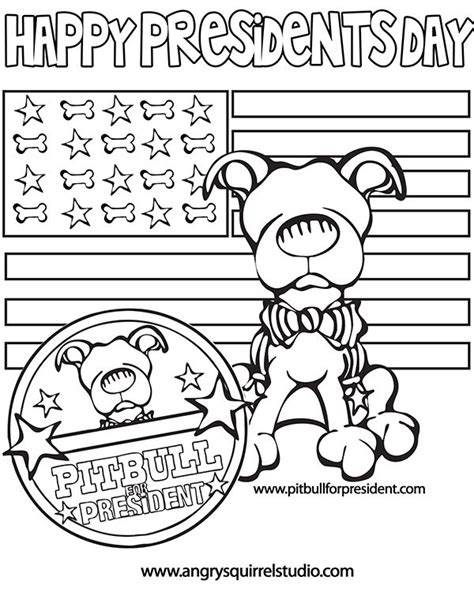 printable coloring pages presidents day 1000 images about presidential pets on