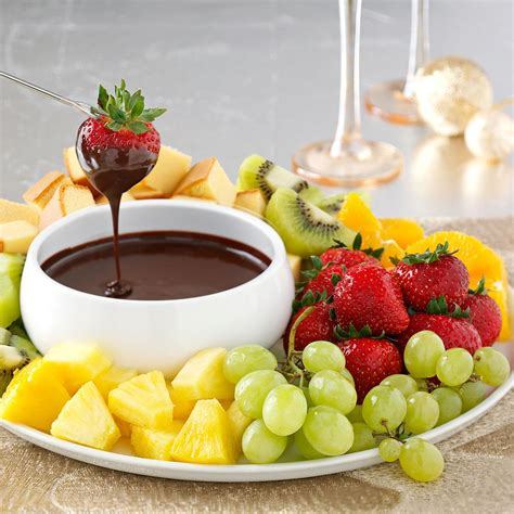mocha dessert fondue recipe taste of home