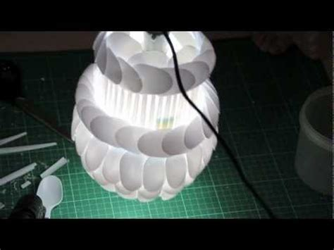 Make Light Of by How To Make Your Own Diy L Made From Plastic Spoons