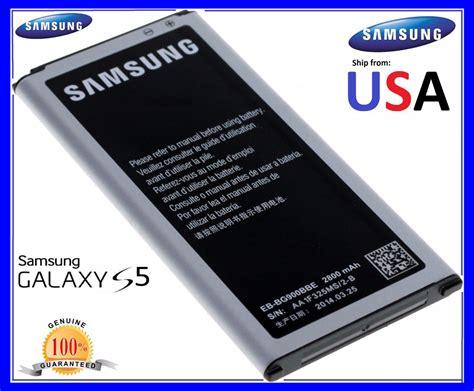 new genuine oem samsung galaxy s5 battery 2800mah for i9600 g900s g900f ebay
