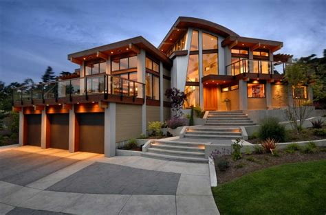 custom house design custom home designer with glass wall ideas home interior