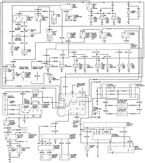 94 ford ranger 4x4 wiring diagram wiring diagrams wiring