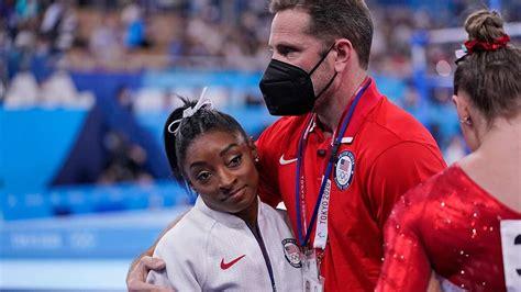 gymnastics olympics  simone biles   facing burnout  expectations marca