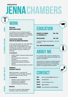 stylish cvs on pinterest resume cv design and cv template