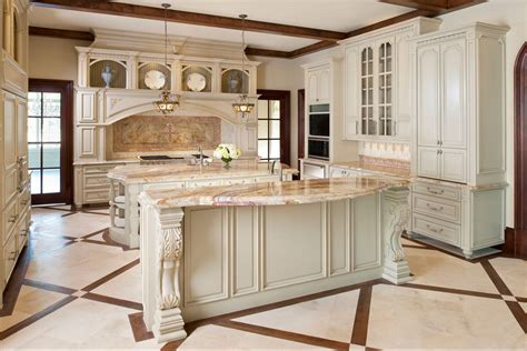kitchen island corbels traditional kitchen with high ceiling by jason nurmi