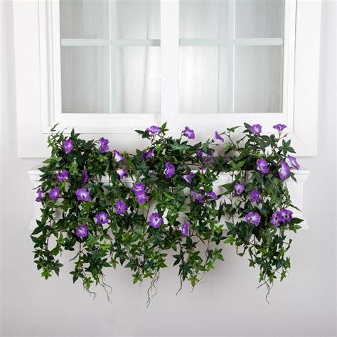 artificial window box plants artificial window box flowers artificial flower arrangements