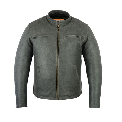 Sporty Jacket ds709 s sporty cruiser jacket gray s jackets