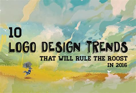 2016 design trends 10 logo design trends that will rule the roost in 2016
